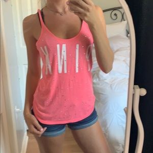 Pink by VS tank top